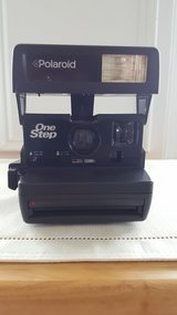 Vintage Polaroid One Step Camera with Built in Flash in Wilmington, North Carolina