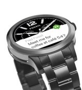 Fossil Founder 2.0 Smart Watch works with both iPhone and Android phones in Vista, California