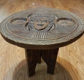 Vintage Aztec stool/table in Houston, Texas