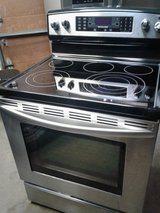 SS Frig and Electric Stove Pair in Orland Park, Illinois