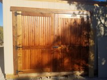 Handmade rustic doors in Alamogordo, New Mexico