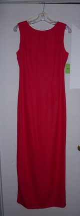 New Red Evening Gown, Formal Gown, Prom Dress - Size 12 - $20.00 in Kingwood, Texas