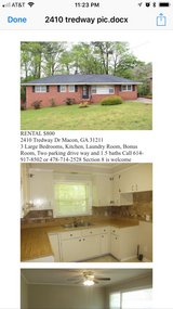 For rent in Macon, Georgia