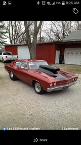 1968 Chevelle in Fort Campbell, Kentucky