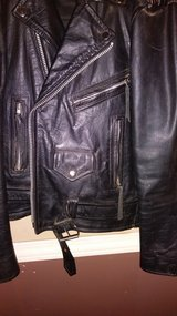 Leather Gallery (size med) mens/rebel/biker jacket in Alamogordo, New Mexico