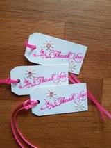 7 Thank You Gift Tags Handmade in Ramstein, Germany