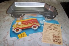 Van Cake pan from Wilson in The Woodlands, Texas