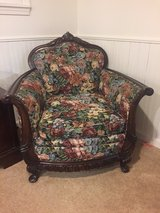 antique couch and chair in Naperville, Illinois