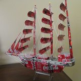 Hand made Coca-Cola Ship in Yucca Valley, California