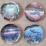 Underwater Paradise Plate collection of 12 in Yucca Valley, California