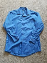 Men's Blue GEORGE Dress Shirt in Camp Lejeune, North Carolina