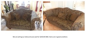 Sofa and Love Seat in Fort Hood, Texas