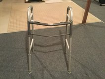 Standard size fold up walker in Yorkville, Illinois