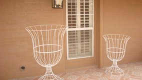 Two large wire Goblet/ in or outdoor decor in El Paso, Texas