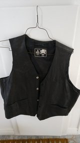 Men's Leather Motorcycle Vest (Vintage) in 29 Palms, California