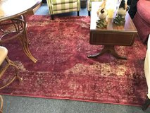 Red and Yellow Rug in Naperville, Illinois