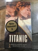 Titanic VHS (2 tape set) in Clarksville, Tennessee