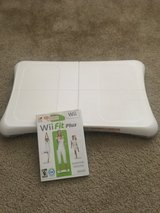 Wii Fit game and balance board in Olympia, Washington
