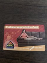 Ashley Furniture Store Card in Fort Benning, Georgia
