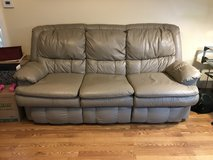 Leather Hide Abed Couch in Orland Park, Illinois