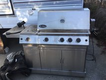 """The Classic"" Stainless steel BBQ in Camp Pendleton, California"