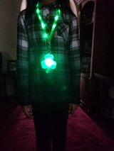 St. Patrick Day Blinking Shamrock with Green Light Up Lanyard *NEW'' in Hinesville, Georgia