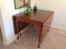 Vintage Dropleaf table/2 Chairs in Naperville, Illinois