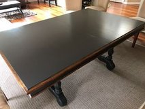 Black and natural Dining Table in Elgin, Illinois