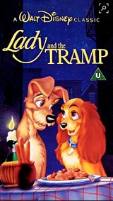 Lady and the Tramp VHS – Disney Classic in Kingwood, Texas