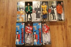 Lupin the 3rd figures in Okinawa, Japan