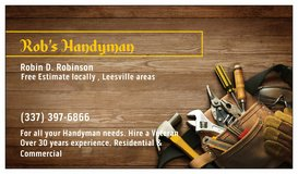 Rob's Handyman in Leesville, Louisiana