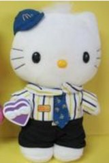 Hello kitty McDonald's plush collectible in 29 Palms, California