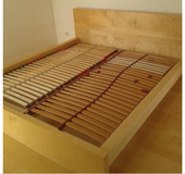 IKEA MALM bed $60 in Wiesbaden, GE