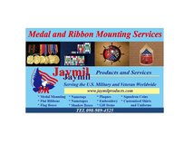 Medal Mounting Services in Okinawa, Japan