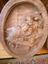 hand carved old picture in Spangdahlem, Germany