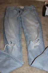 ***Ladies Distressed Abercrombie Jeans***SZ 0 in The Woodlands, Texas