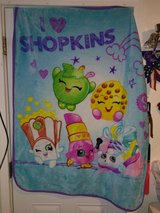 Shopkins blanket/throw in Fort Campbell, Kentucky