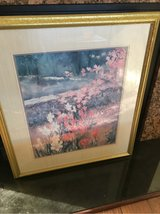 large floral picture in frame in Perry, Georgia