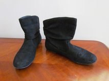 Black Suede Boots in Lockport, Illinois