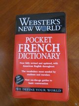 Pocket French Dictionary in Aurora, Illinois