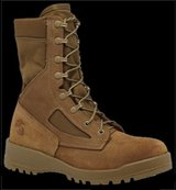 WTB boots in Camp Pendleton, California