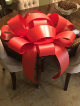 GIANT red Magnetic Bow in Spring, Texas