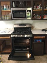 GE 5.6 cu Gas Oven + Microwave to match in Oceanside, California