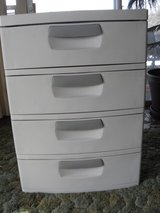 Four Drawer Sterilite cabinet in Fort Leonard Wood, Missouri