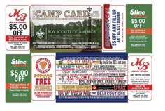 Cub Scout Camp Cards in Leesville, Louisiana