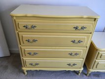 Yellow Chest of Drawers and Nightstand in Fort Belvoir, Virginia