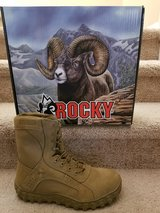 Rocky steel toe boots size 7 wide in Camp Pendleton, California