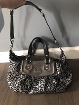 Limited edition Coach ocelot handbag in Yorkville, Illinois