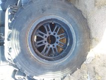 20 in ford rims w/ regrovable military tires in 29 Palms, California