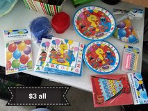 Big Bird party supplies in Travis AFB, California